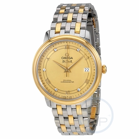 Omega 424.20.37.20.58.002 De Ville Prestige Mens Automatic Watch