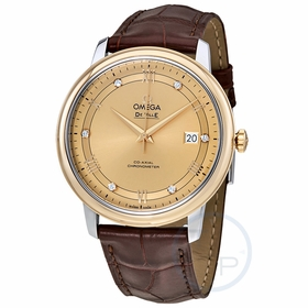 Omega 424.23.40.20.58.001 De Ville Prestige Co-Axial Mens Automatic Watch