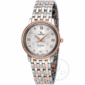 Omega 424.25.27.60.52.001 De Ville Prestige Butterfly Ladies Quartz Watch