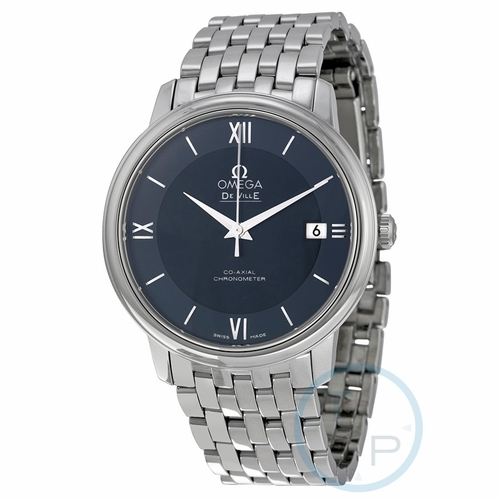 Omega 424.10.37.20.03.001 De Ville Prestige Mens Automatic Watch