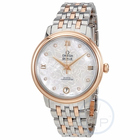 Omega 42420332055001 De Ville Prestige Butterfly Ladies Automatic Watch