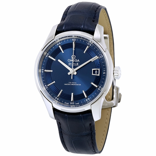 Omega 433.33.41.21.03.001 De Ville Hour Vision Mens Automatic Watch