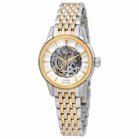 Oris 01 560 7687 4351-07 8 14 78 Skeleton Ladies Automatic Watch