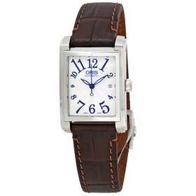 Oris 01 561 7656 4061LS Rectangular Date Ladies Automatic Watch