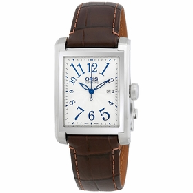 Oris 01 561 7657 4061-07 5 21 70FC Rectangular Date Mens Automatic Watch