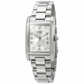 Oris 01 561 7692 4061-07 8 18 20 Rectangular Ladies Automatic Watch