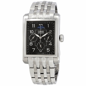 Oris 01 582 7658 4034-07 8 23 82 Rectangular Mens Automatic Watch