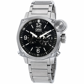 Oris 01 690 7615 4164 07 8 22 58 BC4 Flight Timer Mens Automatic Watch