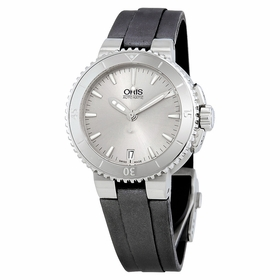 Oris 01 733 7652 4141-07 5 18 14FC Aquis Date Ladies Automatic Watch