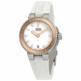 Oris 01 733 7652 4356-07 4 18 31 Aquis Ladies Automatic Watch