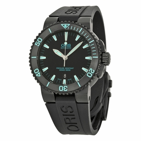 Oris 01 733 7653 4725-07 4 26 34BEB Aquis Date Mens Automatic Watch