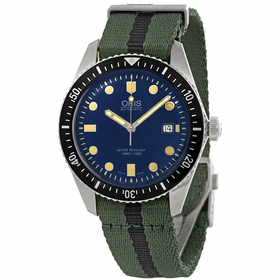 Oris 01 733 7720 4055-07 5 21 25FC Divers Sixty-five Mens Automatic Watch