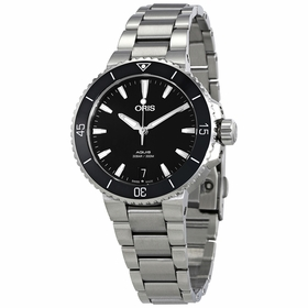 Oris 01 733 7731 4154-07 8 18 05P Aquis Ladies Automatic Watch