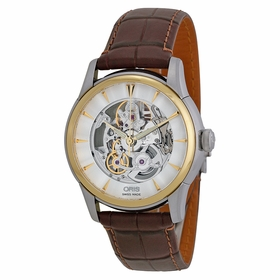 Oris 01 734 7670 4351-07 1 21 73FC Artelier Skeleton Mens Automatic Watch