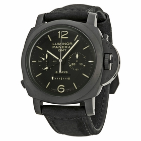 Panerai PAM00317 Luminor 1950 Chrono Monopulsante 8 Days GMT Mens Chronograph Hand Wind Watch