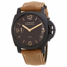 Panerai PAM00375 Luminor 1950 Mens Hand Wind Watch