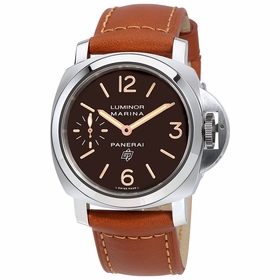 Panerai PAM00632 Luminor Marina Logo Acciaio Mens Hand Wind Watch