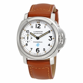 Panerai PAM00660 Luminor Marina Logo Acciaio Mens Hand Wind Watch