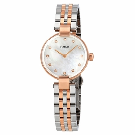 Rado R22855929 Coupole Diamonds S Ladies Quartz Watch