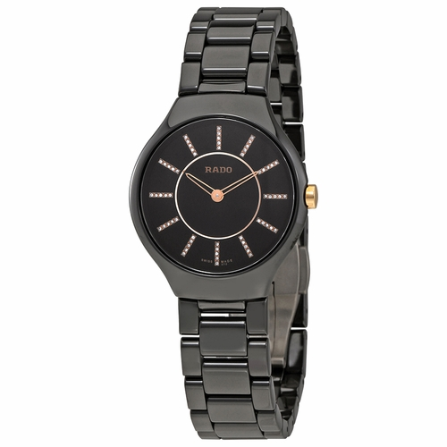 Rado R27742702 TRUE Ladies Quartz Watch