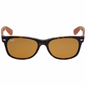 Ray Ban RB2132 6179 55 New Wayfarer Bicolor Mens  Sunglasses