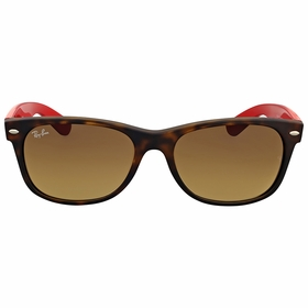 Ray Ban RB2132 618185 55 New Wayfarer Bicolor Mens  Sunglasses