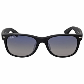 Ray Ban RB2132F 601S78 55 New Wayfarer Matte Mens  Sunglasses