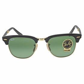 Ray Ban RB2176 901 51-21 Clubmaster Unisex  Sunglasses
