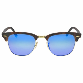 Ray Ban RB3016 114517 51-21 Clubmaster Flash Lenses Mens  Sunglasses