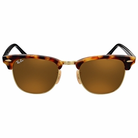 Ray Ban RB3016 1160 49 Clubmaster Fleck Mens  Sunglasses