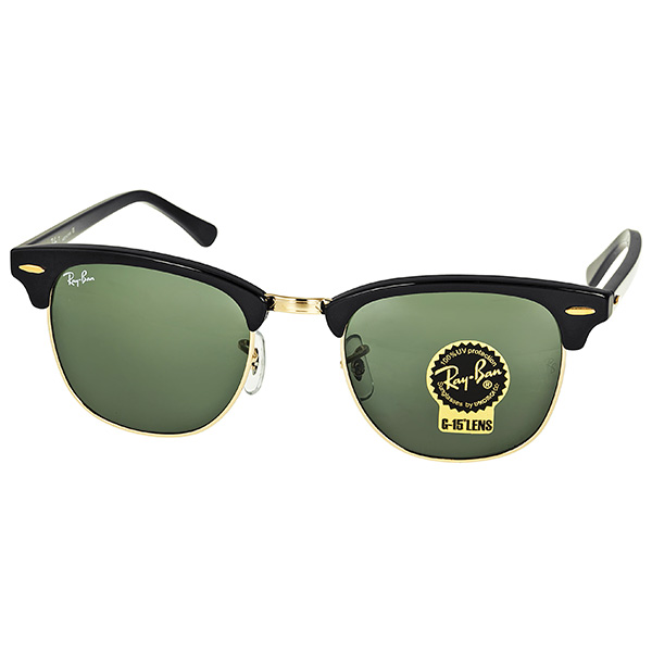 Ray Ban Rb3016 W0365 51 22 Clubmaster Mens Sunglasses