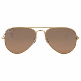 Ray Ban RB3025 001/3E 55-14 Aviator Gradient Mens  Sunglasses