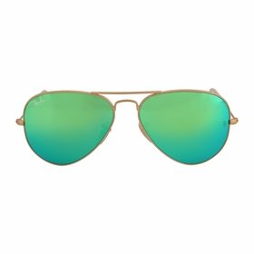 Ray Ban RB3025 112/19 58-14 Aviator Flash Lenses Mens  Sunglasses