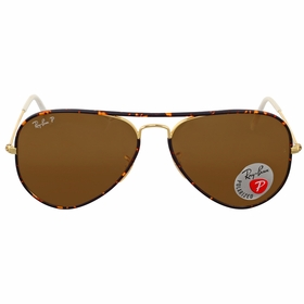 Ray Ban RB3025JM 001/57 58 Aviator Mens  Sunglasses