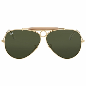 Ray Ban RB3138 001 58 Shooter Mens  Sunglasses