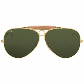Ray Ban RB3138 001 62 Shooter Mens  Sunglasses