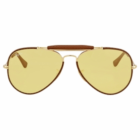 Ray Ban RB3422Q 90424A 58 Outdoorsman Mens  Sunglasses