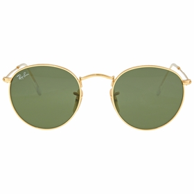 Ray Ban RB3447 001 47 Round Metal Mens  Sunglasses