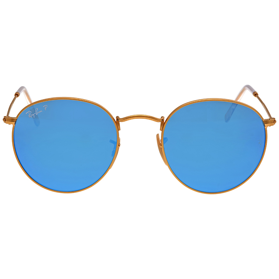 d10eae62412 Ray Ban RB3447 112 4L 50-21 Round Mens Sunglasses