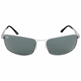 Ray Ban RB3498 004/71 64-17 Green Classic Mens  Sunglasses