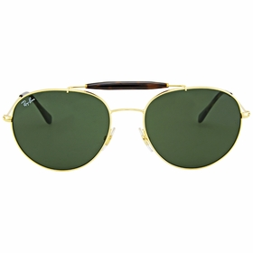Ray Ban RB3540-001-56 Round Unisex  Sunglasses
