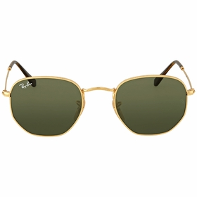Ray Ban RB3548N 001 48 Hexagonal Flat Mens  Sunglasses