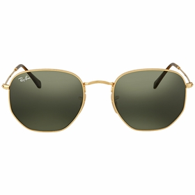 Ray Ban RB3548N 001 54 Hexagonal Mens  Sunglasses