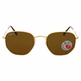 Ray Ban RB3548N 001/57 54 Hexagonal Flat Lenses Mens  Sunglasses