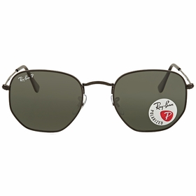 Ray Ban RB3548N 002/58 51 Hexagonal Flat Lenses   Sunglasses
