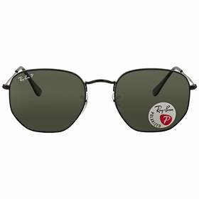 Ray Ban RB3548N 002/58 54 Hexagonal Unisex  Sunglasses