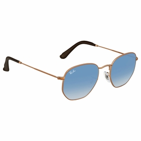Ray Ban RB3548N 90353F 51 Hexagonal   Sunglasses