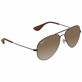 Ray Ban RB3558 002/T5 58  Unisex  Sunglasses