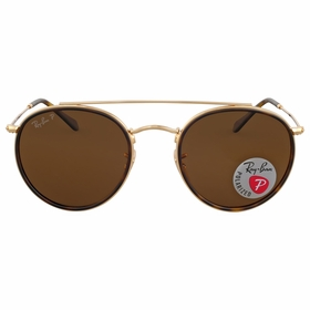 Ray Ban RB3647N 001/57 51 Round Double Bridge Unisex  Sunglasses