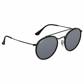 Ray Ban RB3647N 002/R5 51 Round Double Bridge Unisex  Sunglasses